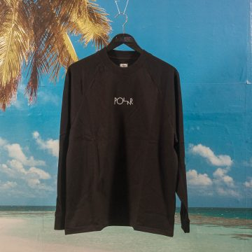 Polar Skate Co. - Default Longsleeve - Black