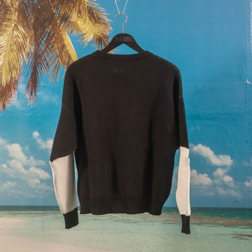 Polar Skate Co. - Art Knit Sweater - Black / White