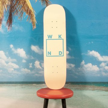 WKND Skateboards - Logo Cream Deck - 8.25