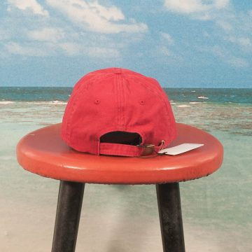 Dimanche Skate Co. - 6 Panel Cap - Washed Red