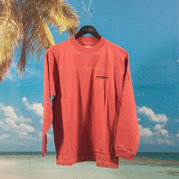 Yardsale - Polo Longsleeve - Crimson