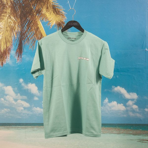 Fucking Awesome - Mess T-Shirt - Seafoam Green