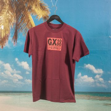 GX1000 - Japan T-Shirt - Maroon