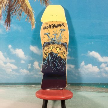 Antihero Skateboards - Grimple Stix Night Hammer Right Deck - 10.25