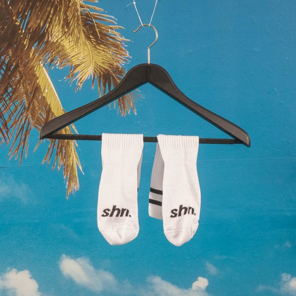 SHRN - Grande Socks - White