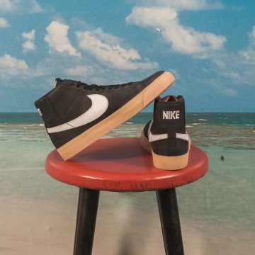 "Nike SB - Blazer Mid Zoom ""Orange Label"" - Black / White"