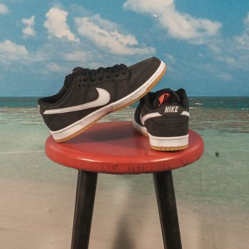 "Nike SB - Dunk Low Pro ""Orange Label"" - Black / White"