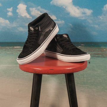 "Vans - Sk8-Mid Pro ""Anti Hero"" Grosso - Black"