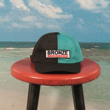 Bronze 56k - Bronze Technologies Hat - Black / Teal