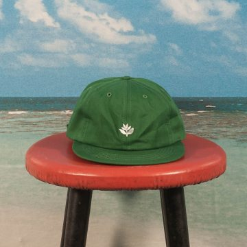 Magenta Skateboards - Plant 6 Panel Cap - Green