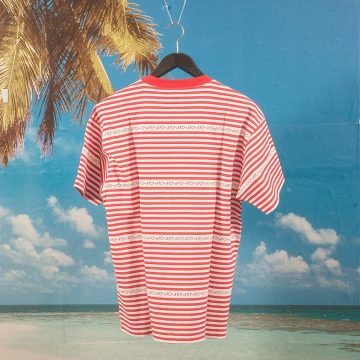 Polar Skate Co. - Stripe Logo T-Shirt - Red