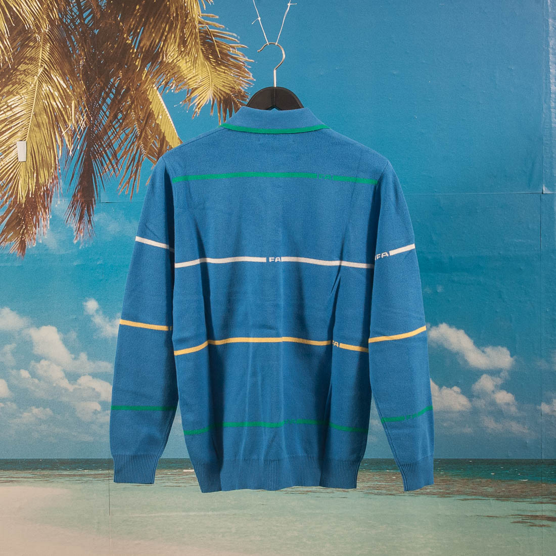 Fucking Awesome - Stripes Knit Rugby - Blue