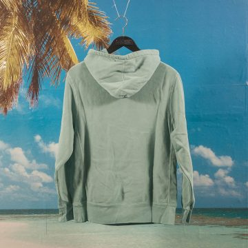Fucking Awesome - Tonal Upside Down Hoodie - Teal