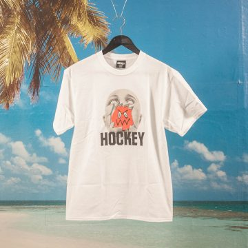 Hockey - Broken Face T-Shirt - White