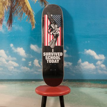 Quasi Skateboards - America Two Deck - 8.25