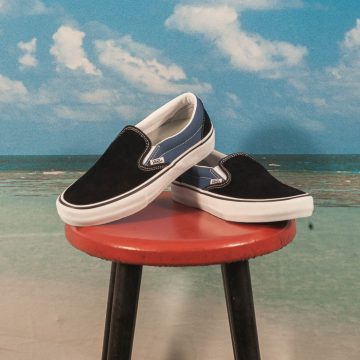 "Vans - Slip On Pro ""Anti Hero"" Pfanner - Black"