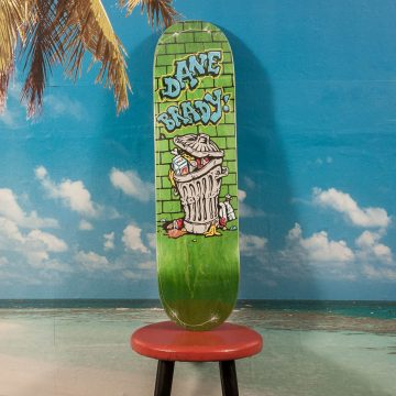 Polar Skate Co. - Dane Brady - Trash Can Deck - 8.375