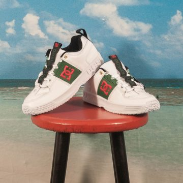 DC Shoes - Lynx OG - White / Green