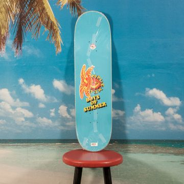 "Antihero Skateboards - Hsu ""Boys Of Summer"" Grimple Stix Guest Deck - 8.38"