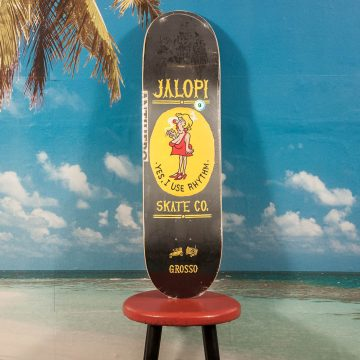 Antihero Skateboards - Grosso Jalopi Skate Co #2 Deck - 9.0