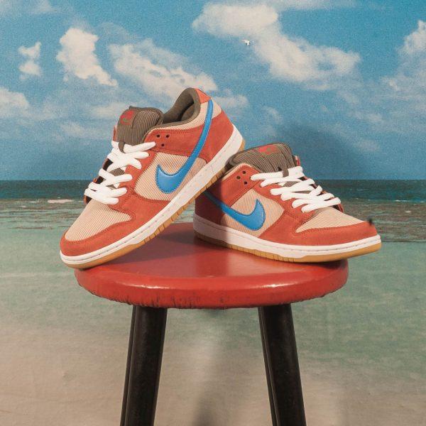 half off 87c8e 08b63 Nike SB - Dunk Low Pro Corduroy - Dusty Peach   Photo Blue - Desert Ore at  SooHotRightNow Onlineshop - SHRN Skateshop München