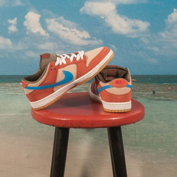 Nike SB - Dunk Low Pro Corduroy - Dusty Peach / Photo Blue - Desert Ore