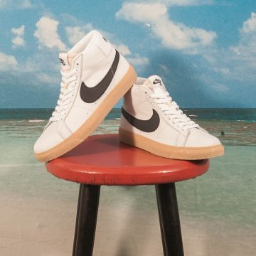 "Nike SB - Blazer Mid Zoom ""Orange Label"" - White / Black - Safety Orange"