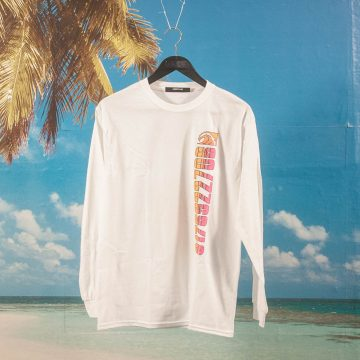 Call Me (917) - Tony Island Longsleeve T-Shirt - White
