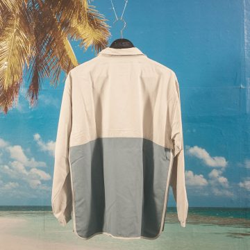 adidas Skateboarding - Dakari Windbreaker - Raw White / Raw Grey