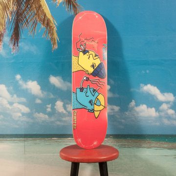 Polar Skate Co. - Smoking Heads Deck - 8.0