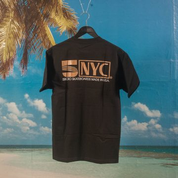 5 Boro NYC - VHS T-Shirt - Black