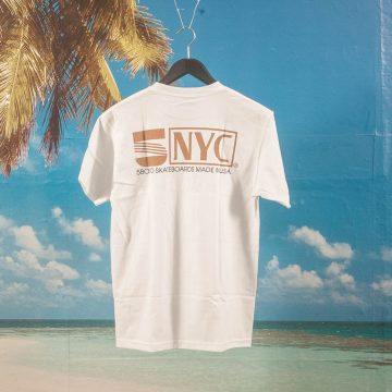 5 Boro NYC - VHS T-Shirt - White
