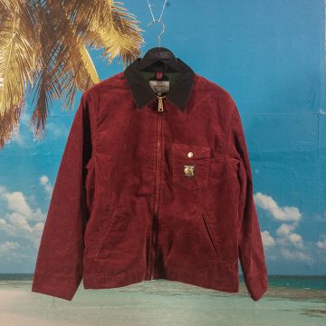 Carhartt WIP X Pass~Port - Corduroy Jacket - Burnt Red