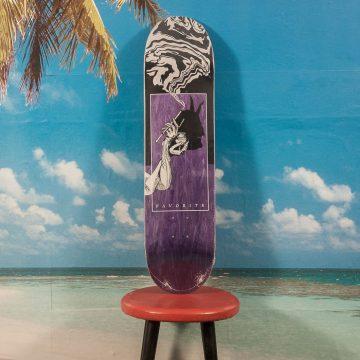 Favorite Skateboards - Devil Tail Deck - 8.0