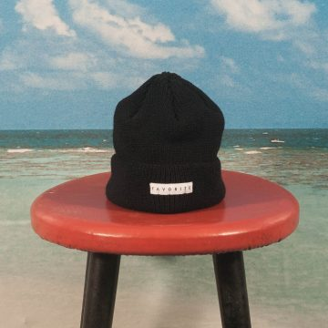 Favorite Skateboards - Fisherman Merino Beanie - Black