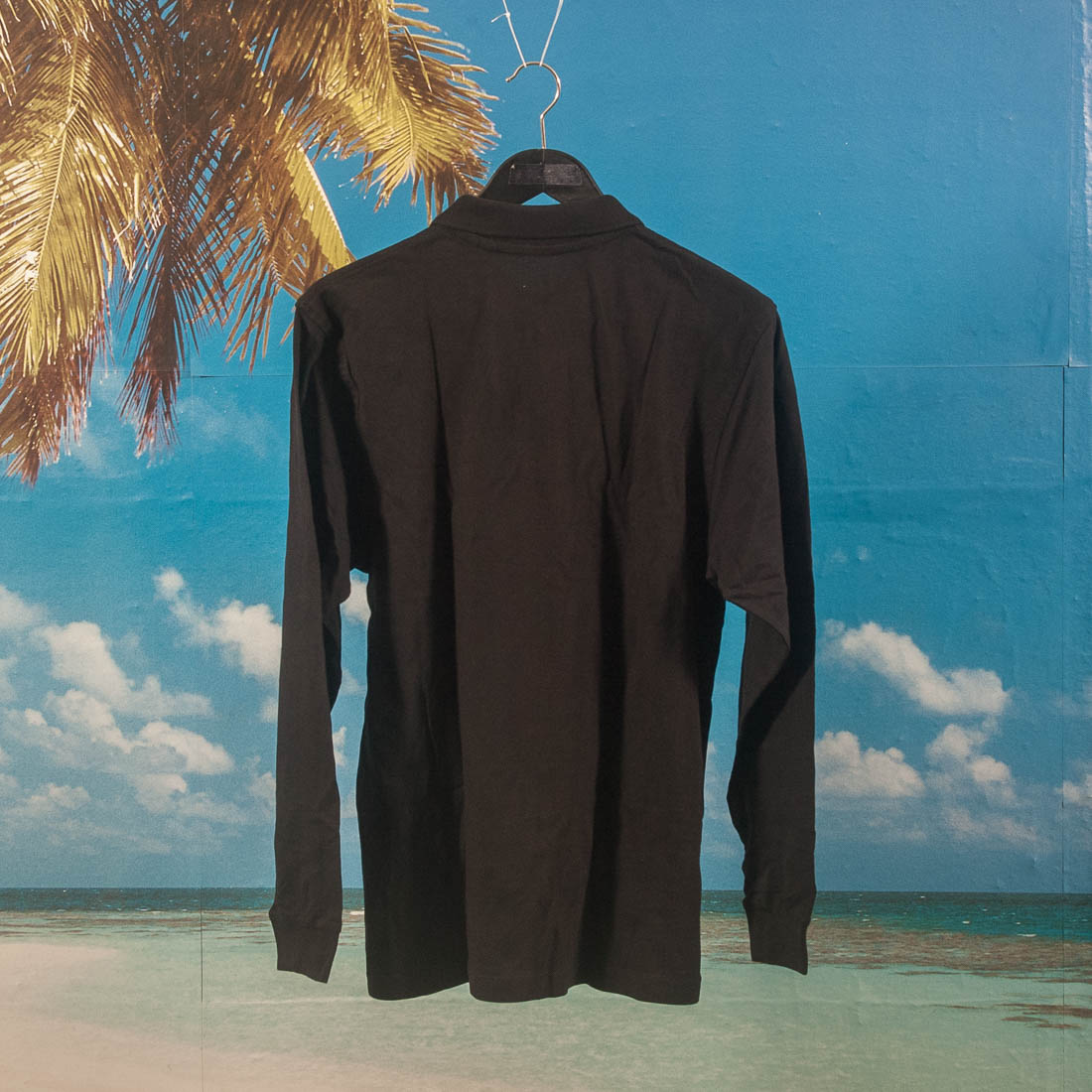 Poetic Collective - Piké Long Sleeve - Black