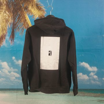 Poetic Collective - Flock Transfer Hoodie - Black