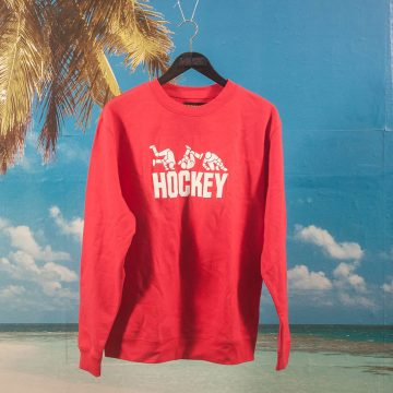 Hockey - Fall Guy Crewneck - Red