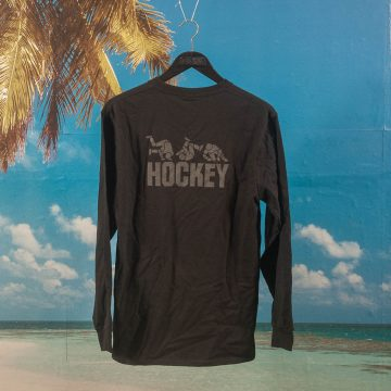 Hockey - Fall Guy Longsleeve T-Shirt - Black