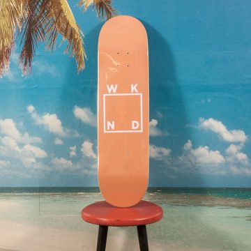 WKND Skateboards - Logo Tan Deck - 8.375