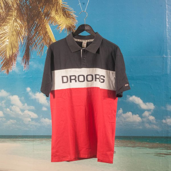 Droors - Zion Polo - Navy / Red / White