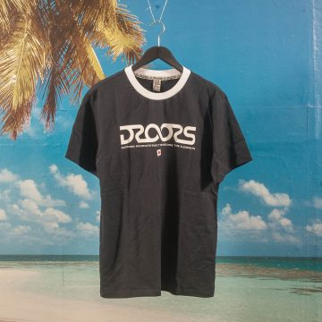 Droors - Infinity Ringer T-Shirt - Dark Navy