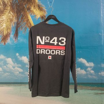 Droors - NR 43 Longsleeve T-Shirt - Dark Navy
