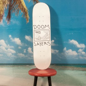 Doomsayers - Snake Shake White Deck - 8.38