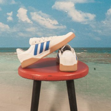 adidas Skateboarding - City Cup - Crystal White / Blue / Gum
