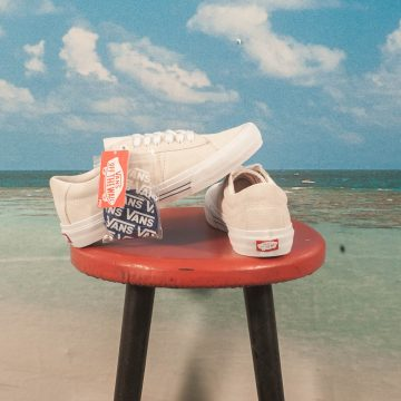 Vans - Saddle Sid Pro - Marshmallow / Racing Red