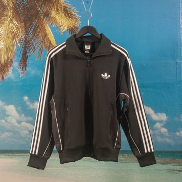 adidas Skateboarding - TJ Firebird Track Jacket - Black / White