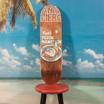 "Antihero Skateboards - Gerwer ""Pigeon Fried"" Deck - 8.38"