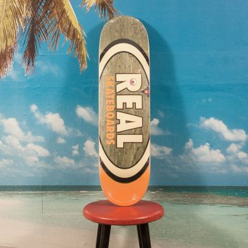 Real Skateboards - Team Oval Deck - 8.5