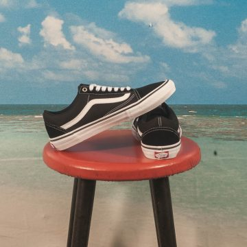 Vans - Old Skool Pro - Black / White